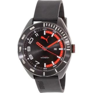 Puma Men's PU103951001 Black Rubber Quartz Watch