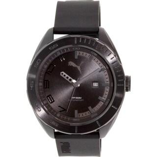 Puma Men's PU103951003 Black Rubber Quartz Watch