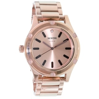 Nixon Women's Camden A343897 Rose Gold Stainless-Steel Quartz Watch