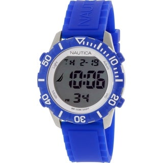 Nautica Men's N09932G Blue Silicone Quartz Watch