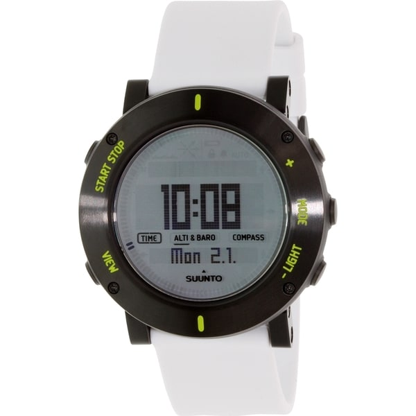 Suunto Men's Core SS020690000 White Rubber Quartz Watch