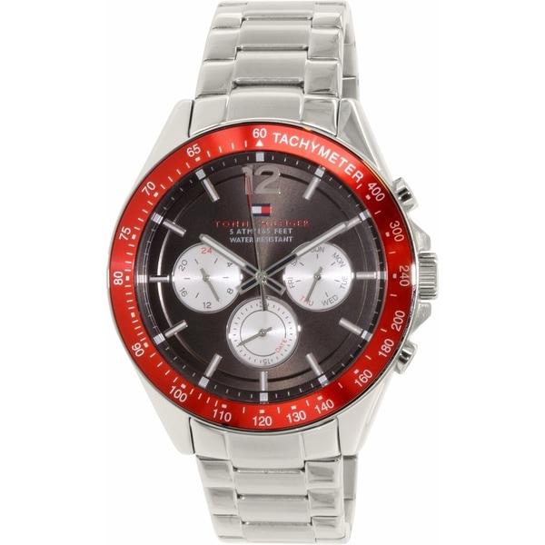 Tommy Hilfiger Men's 1791122 Silver Stainless-Steel Quartz Watch