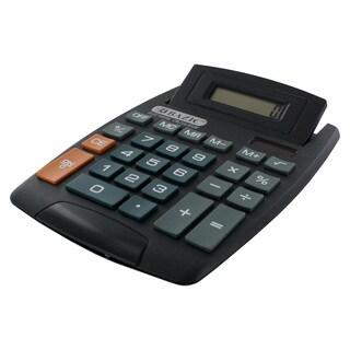 Bazic 8-Digit Large Desktop Calculator with Adjustable Display