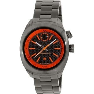Movado Men's Bold 3600213 Gunmetal Stainless-Steel Swiss Quartz Watch