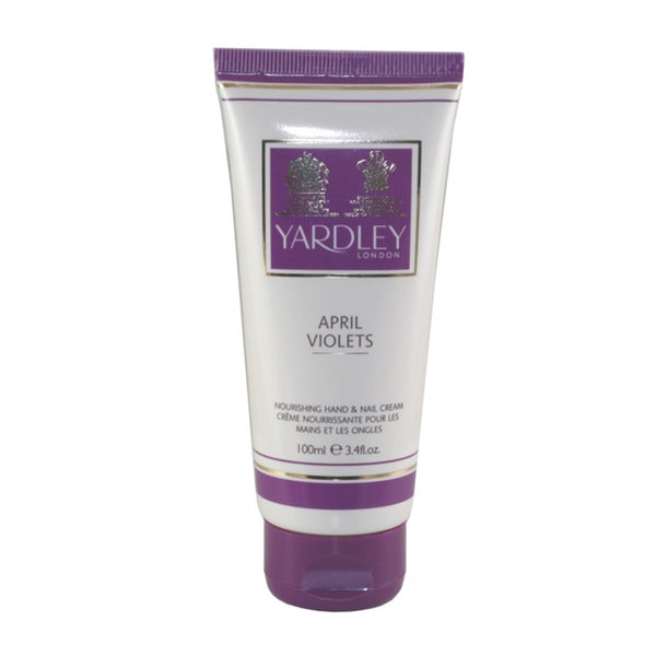 Yardley Of London April Violets 3.4-ounce Hand & Nail Cream