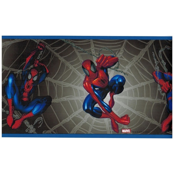 Marvel Comics Spiderman Wall Border