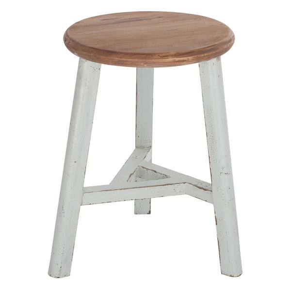 Two-tone Round Dining Stool