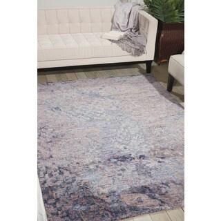 Nourison Gemstone Sapphire Rug (8'6 x 11'6)