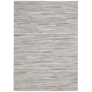 Nourison Capelle Silver Rug (8' x 10')