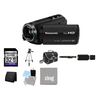 Panasonic HC-V250 Black Full HD Camcorder and 32GB Card Bundle
