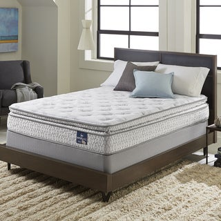 Serta Extravagant Pillowtop California King-size Mattress Set