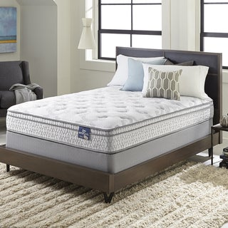 Serta Extravagant Euro Top California King-size Mattress Set