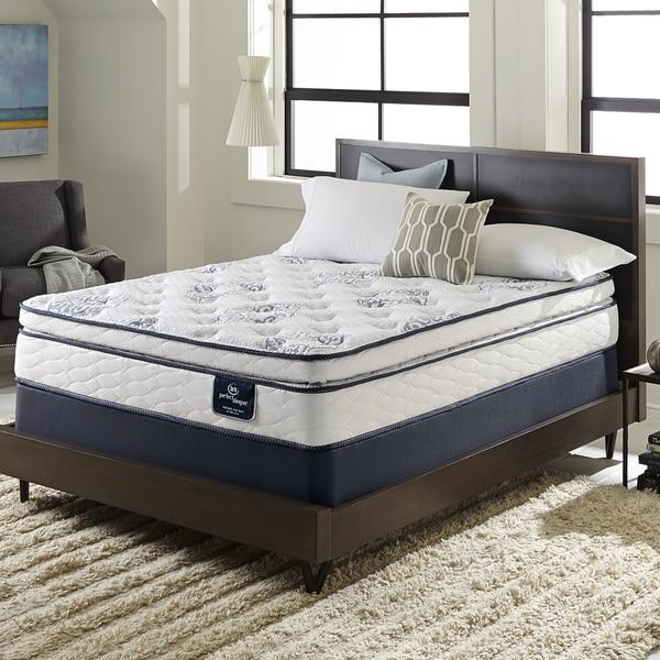 Serta Perfect Sleeper Ventilation Pillowtop Twin-size Mattress Set