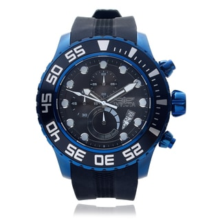 Invicta Men's 'Pro Diver' 19249 Chronograph Strap Watch