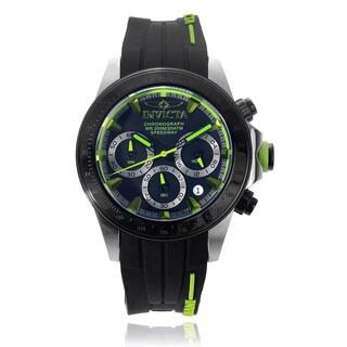 Invicta Men's 'Speedway' 17192 Silicone Strap Watch