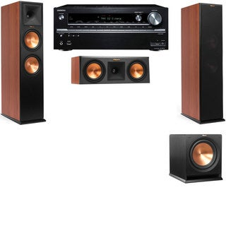 Klipsch RP-280F Tower Speakers CH-RP-250C-R112SW-3.1-Onkyo TX-NR838