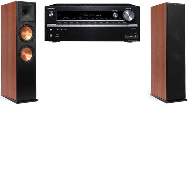 Klipsch RP-280F Tower Speakers CH - Onkyo TX - NR838