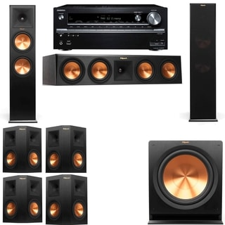 Klipsch RP-280F Tower Speakers-R112SW-7.1-Onkyo TX-NR838