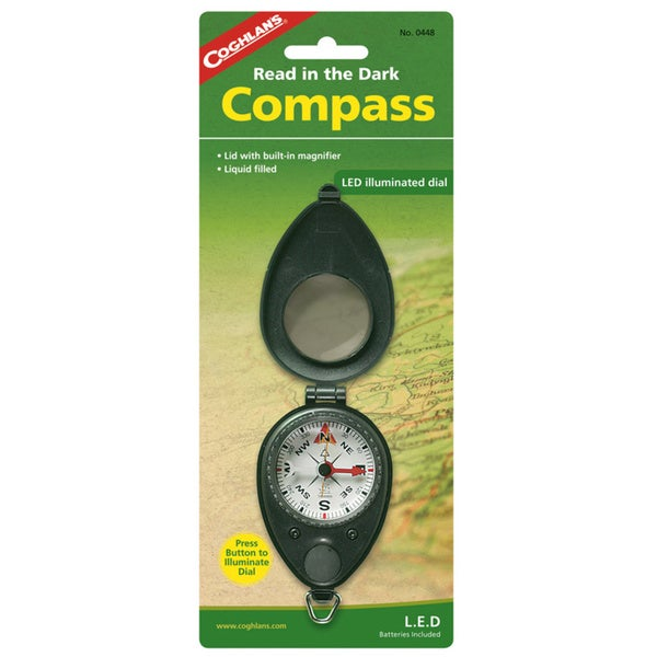 Compass with LED Backlight