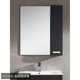 Fine Fixtures Atwood 35-inch Mirror With Side Cabinet