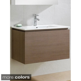 Somette Lexington 32 -Inch Vanity with Vitreous China Sink Top