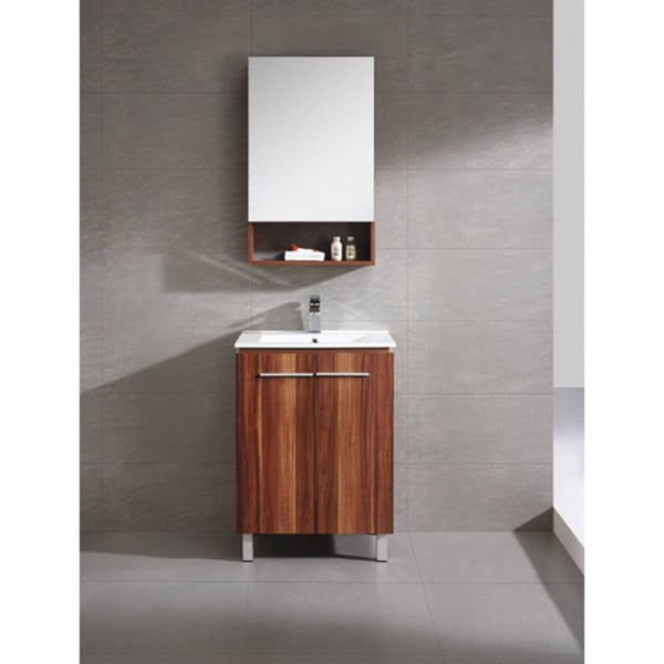 fine fixtures greenpoint 24 inch vanity with vitreous china sink top