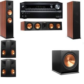 Klipsch RP-280F Tower Speakers CH-5.1-Onkyo TX-NR838