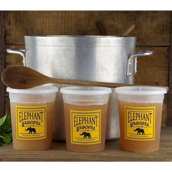Elephant Grocers All-Natural Beef Bone Broth (Pack of 3)