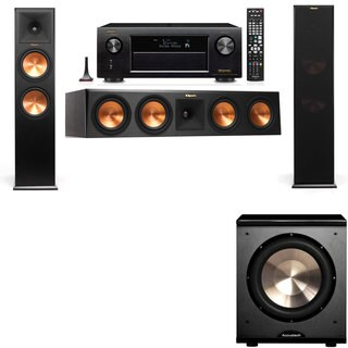 Klipsch RP-280F Tower Speakers-PL-200-3.1-Denon AVR-X4100W
