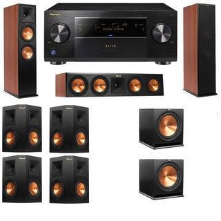 Klipsch RP-280F Tower Speakers CH-RP-450C-7.2-Pioneer Elite SC-85