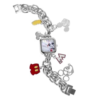 Disney Mickey Mouse Charm Bracelet Watch