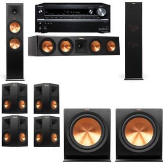 Klipsch RP-280F Tower Speakers-RP-450C-7.2-Pioneer Elite SC-85