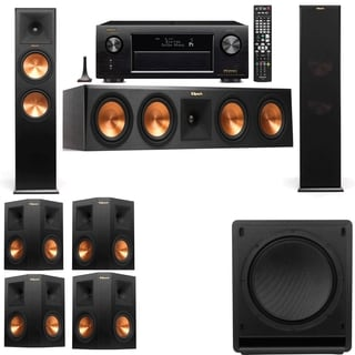 Klipsch RP-280F Tower Speakers-SW-112-7.1-Denon AVR-X4100W