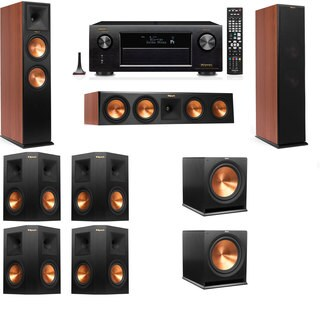 Klipsch RP-280F Tower Speakers CH-7.2-Denon AVR-X4100W