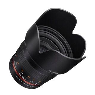 Rokinon 50mm F1.4 Lens for Canon EF Digital SLR Cameras