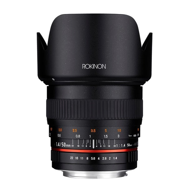 Rokinon 50mm F1.4 Lens for Sony A Mount Digital SLR Cameras
