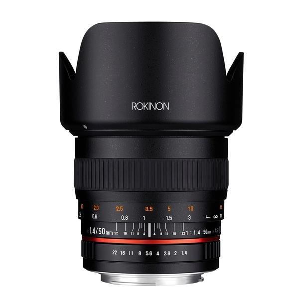 Rokinon 50mm F1.4 Lens for Sony A Mount Digital SLR Cameras