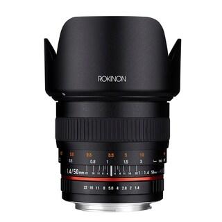 Rokinon 50mm F1.4 Lens for Nikon Digital SLR Cameras