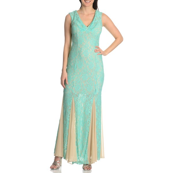 Cachet Women's Lace Special Occasion Gown