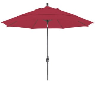 Somette 11-foot Bronze Sunbrella Market Umbrella