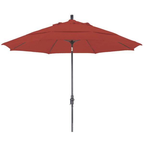 Somette 11-foot Bronze Pacifica Market Umbrella