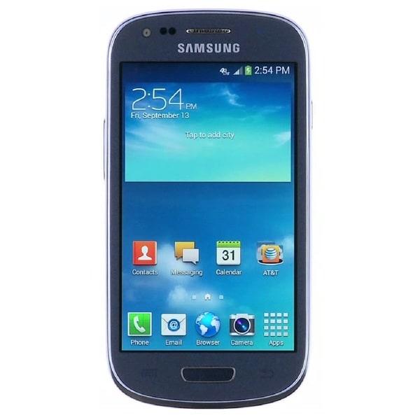 Samsung Galaxy S3 Mini G730a 8GB 4G LTE AT&T Unlocked GSM Phone - Blue (Refurbished)