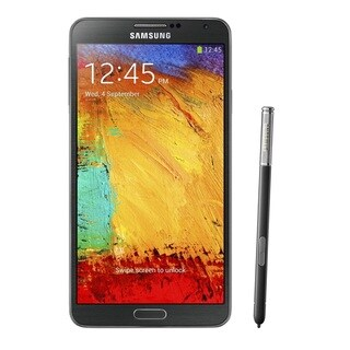 Samsung Galaxy Note 3 N900A 32GB Unlocked GSM Octa-Core Cell Phone - Black Refurbished)