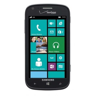 Samsung Ativ Odyssey I930 Verizon + Unlocked GSM 4G LTE Windows 8 Phone - Black (Refurbished)