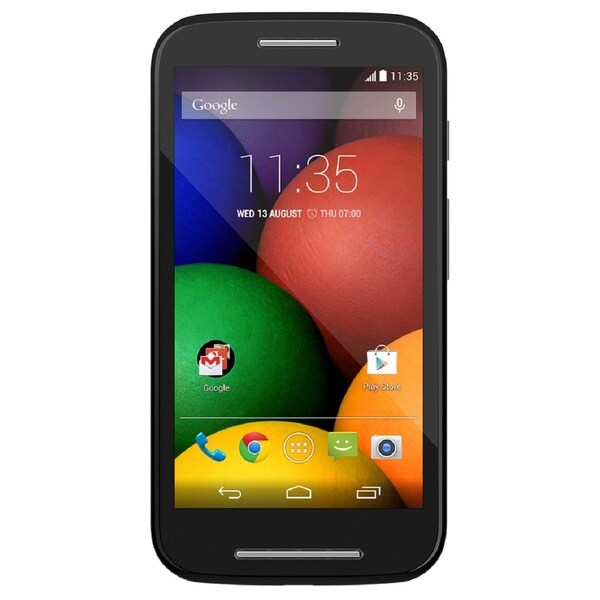 Motorola MOTO E XT1021 Unlocked GSM Dual-Core Android Phone - Black (Refurbished)
