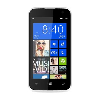 BLU Win JR W410u Unlocked GSM Windows 8.1 Quad-Core HSPA+ Phone - White (Refurbished)