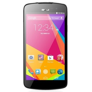 BLU Studio X Plus D770u Unlocked GSM Quad-Core HSPA+ Android Phone - Black (Refurbished)