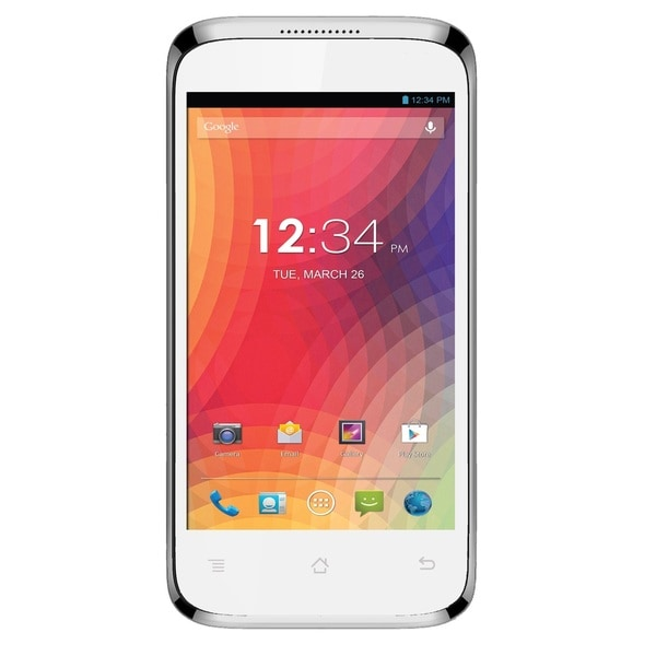 BLU Star 4.0 S410a Unlocked GSM Dual-SIM Dual-Core Android Phone - White (Refurbished)