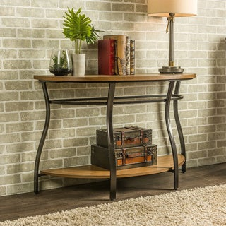Newcastle Wood and Metal Console Table