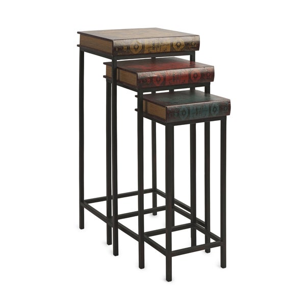 Brownlow Stacked Book Table